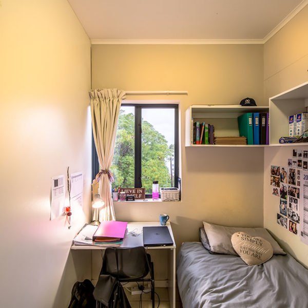 Stellenbosch University Student Dorm Room
